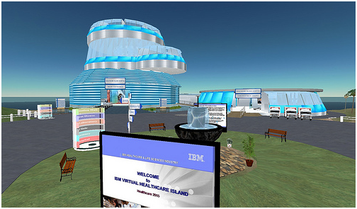 Second Life used in the Learning Process