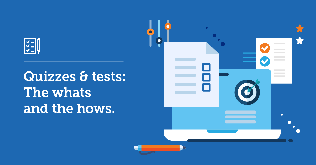 Quizzes and tests for your employee learning strategy