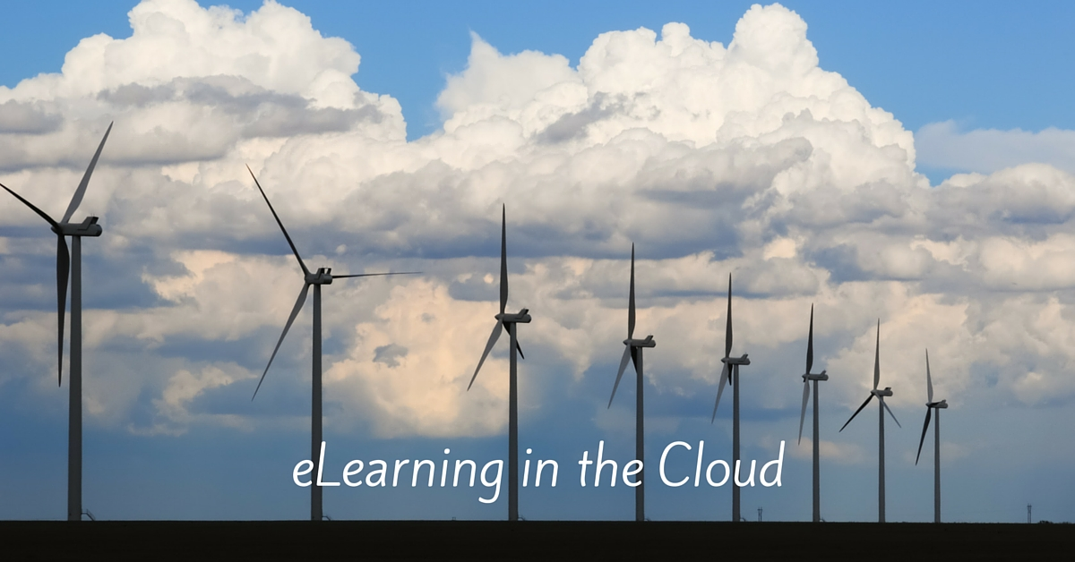 elearning development through a cloud based development tool