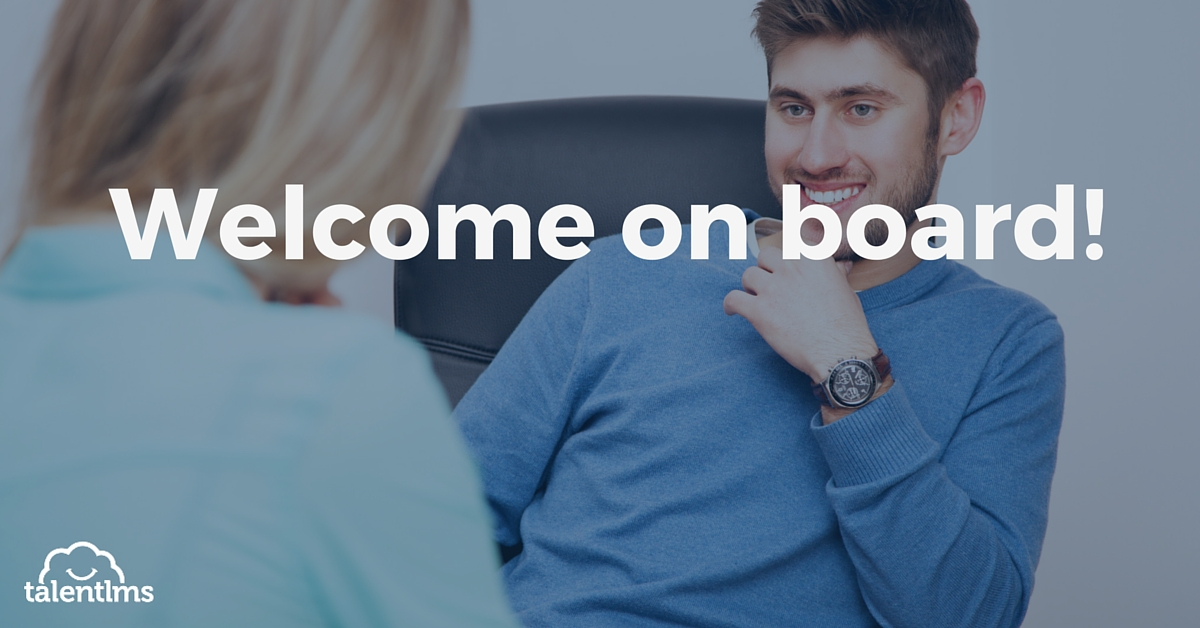 online employee onboarding with an lms