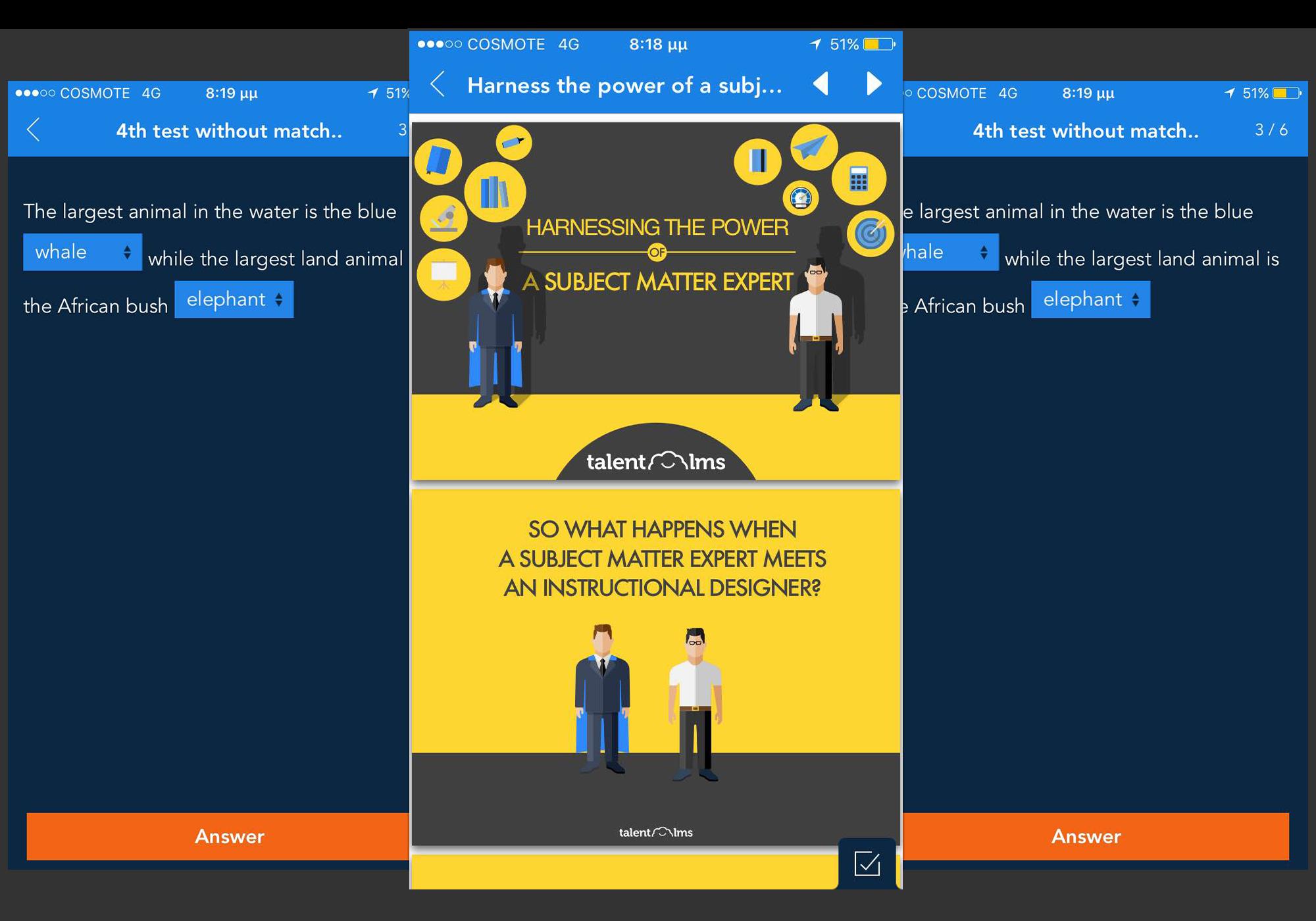 TalentLMS mobile Screenshot 4