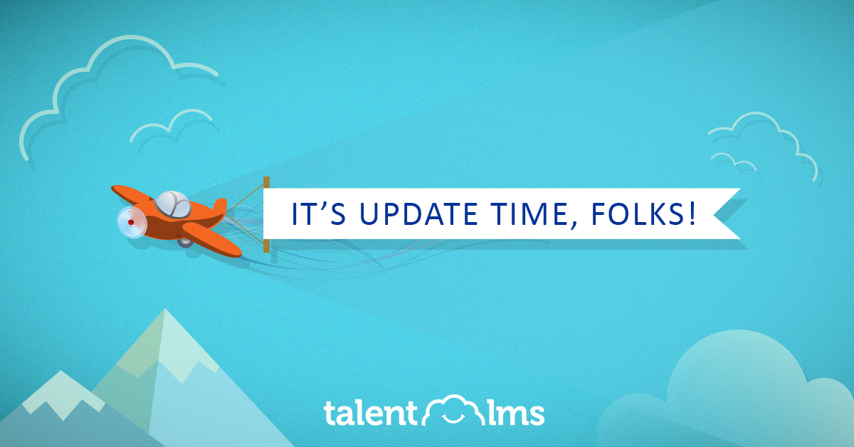 TalentLMS Cloud Update Is Raining Exciting New Features