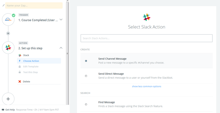 slack-integration-with-talent-lms-send-channel-message