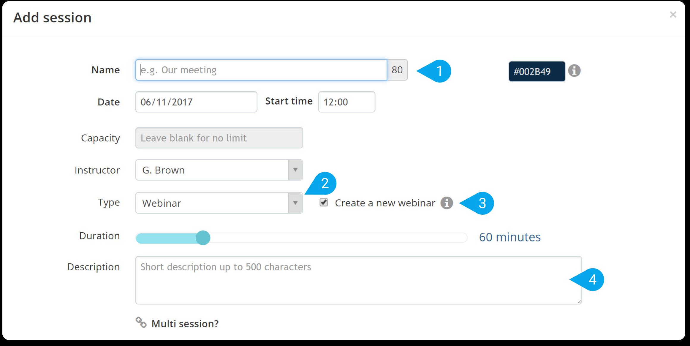 Add ILT Session in TalentLMS - TalentLMS Blog