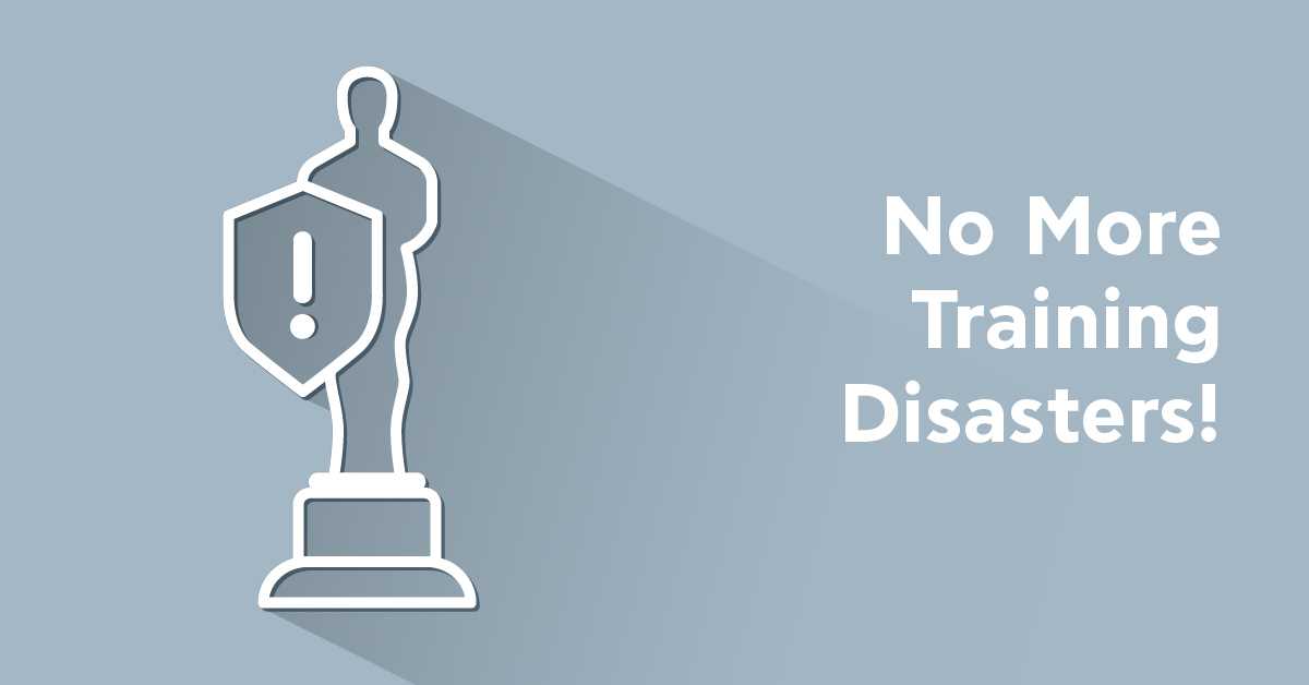 How to avoid making training mistakes: A lesson from the 2017 Oscars