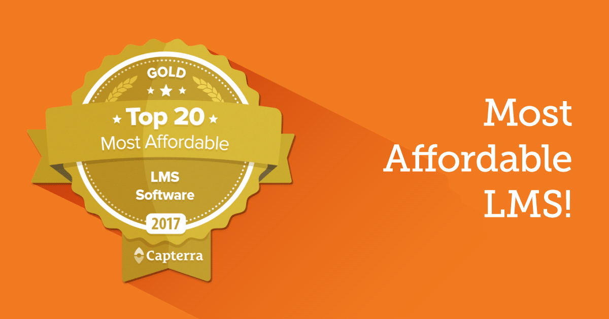"TalentLMS is Capterra's ""Most Affordable LMS"" for 2nd Year in a Row"