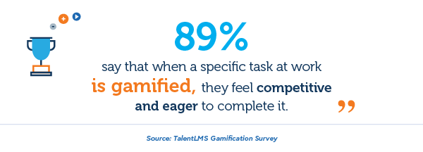 Gamification and sense of competition - TalentLMS