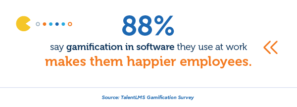 Gamification and employee happiness - TalentLMS