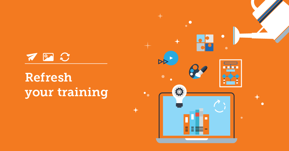 9 creative ways to revitalize outdated online training courses