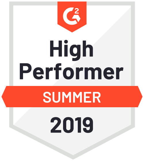 g2crowd high performer badge
