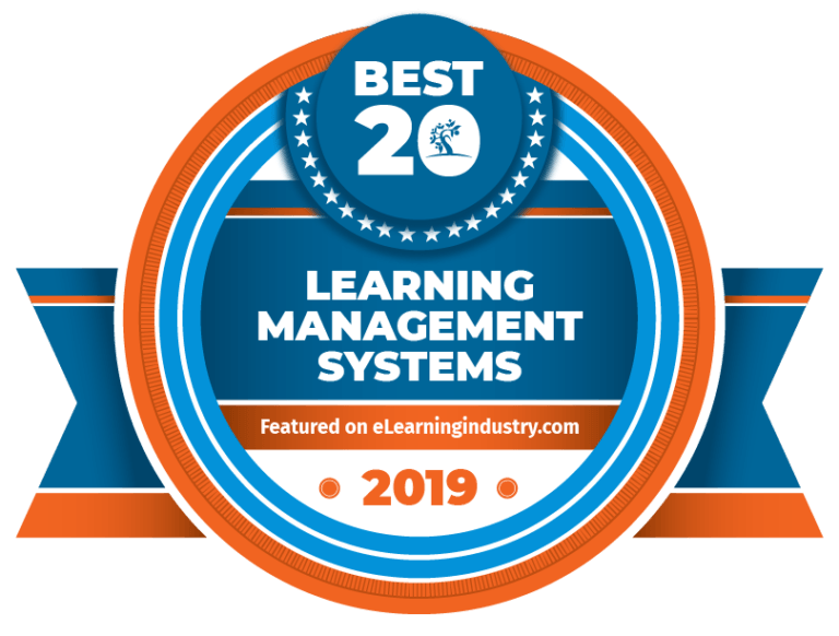 Best Learning Management Systems 2019 badge
