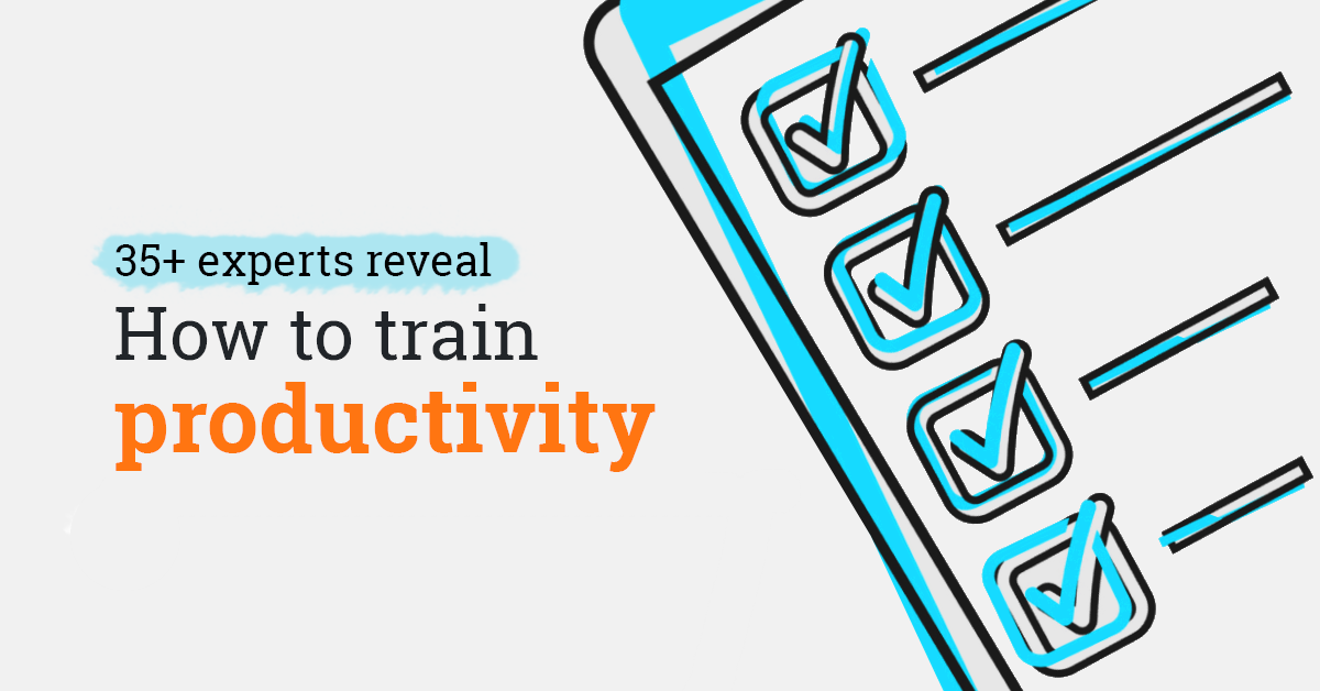 Productivity at work: Expert tips to train employees in 2020