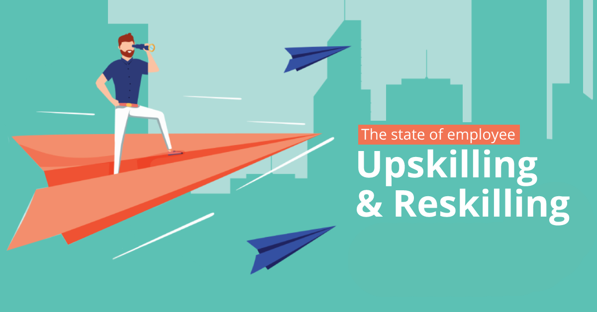 Survey: The State of Employee Reskilling & Upskilling Training