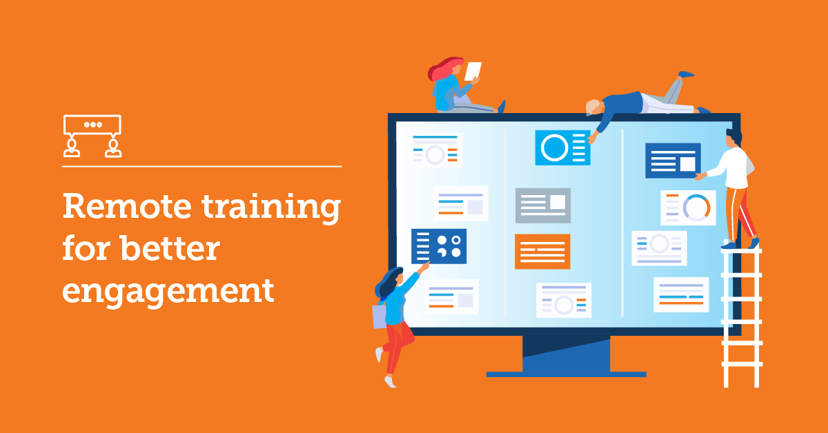 How to build remote training courses for better employee engagement