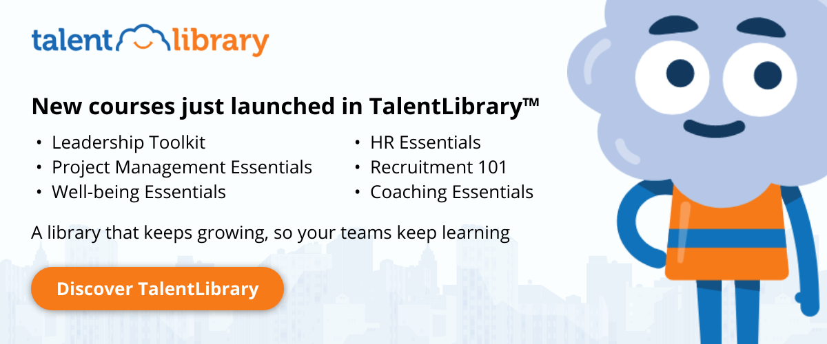 New courses just launched in TalentLibrary