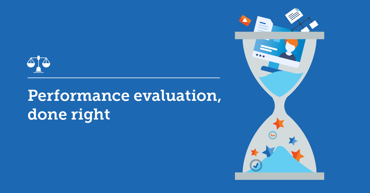 How to build an effective performance evaluation system