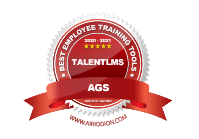 TalentLMS awards 2020 - AGS