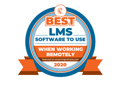 TalentLMS awards 2020 - ELI working remotely