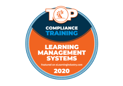 TalentLMS awards 2020 - ELI Compliance training