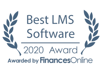 TalentLMS awards 2020 - Best LMS FinancesOnline