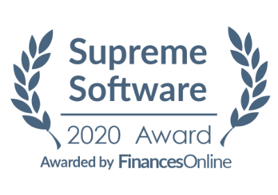 TalentLMS awards 2020 - Supreme award FinancesOnline