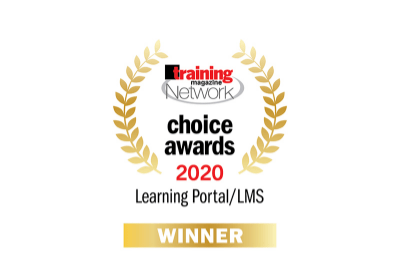 TalentLMS awards 2020 - Training Magazine