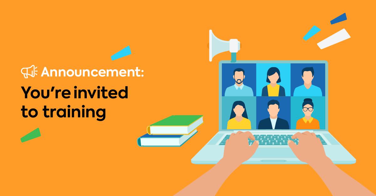 Email template: Invitation to mandatory training