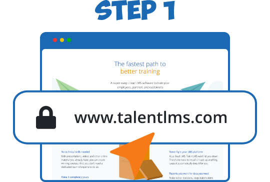 Create a TalentLMS account