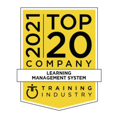 Training Industry Top 20 Company 2021