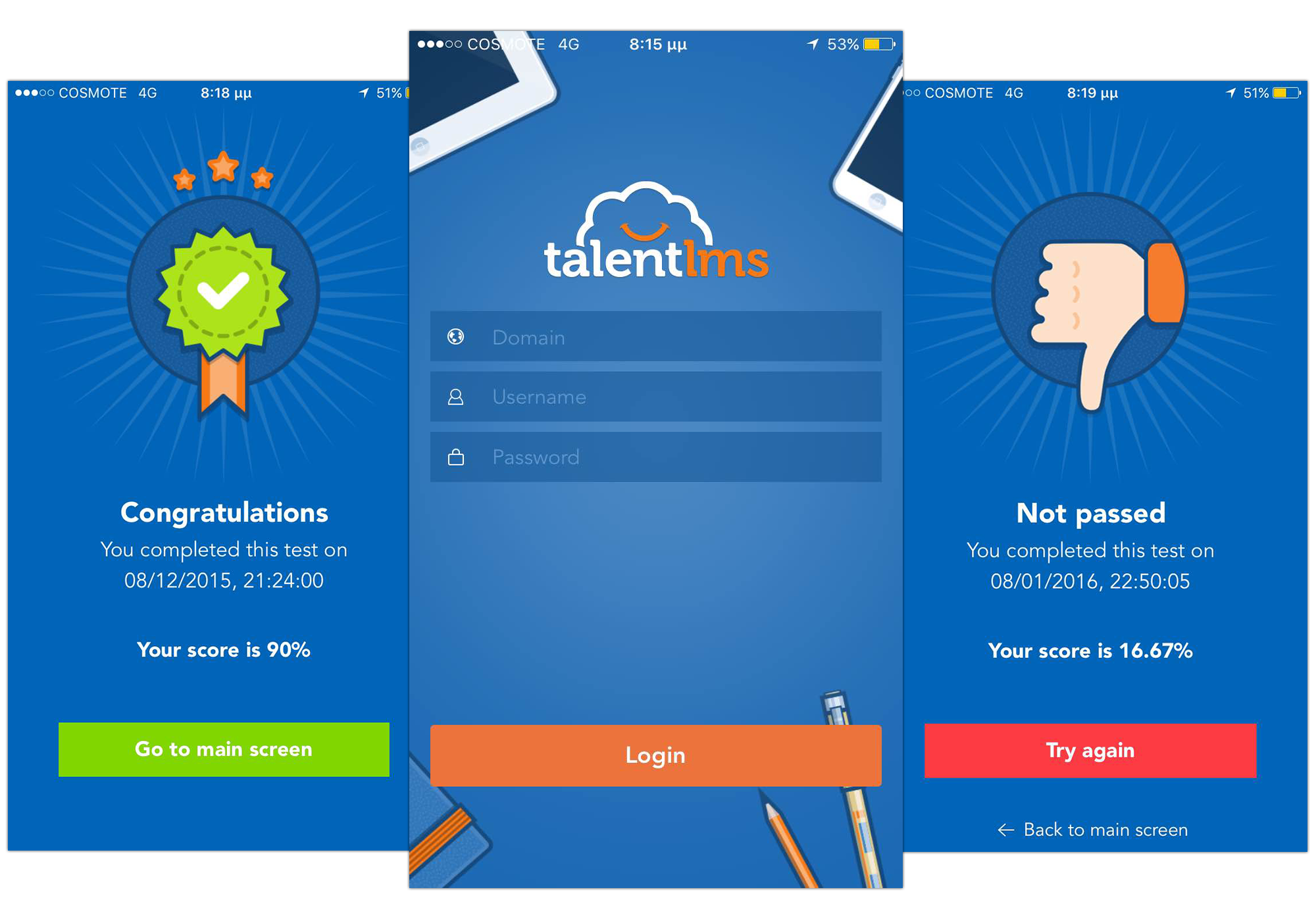 TalentLMS mobile Screenshot 2