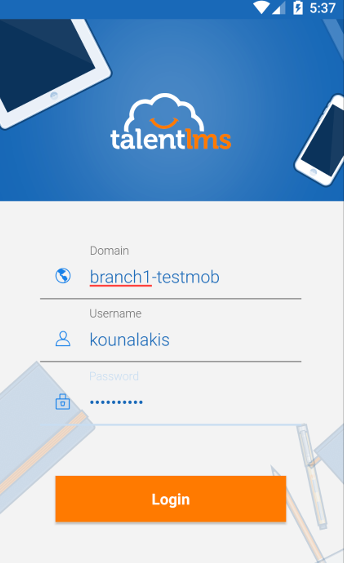 Branches in TalentLMS Android App