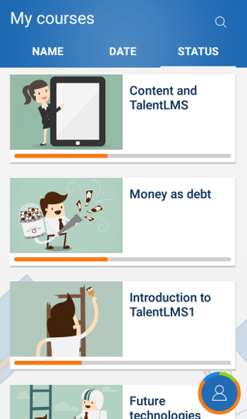 UX on TalentLMS Android App