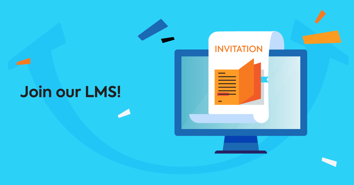 Email template: Invitation to log into the company LMS